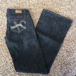 Hydraulic Superflow Metro Flare Jeans Size 3/4